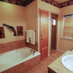 Flying L Guest Ranch Bathroom 150x150 TEXAS   Flying L Guest Ranch, Bandera