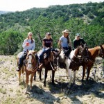 Flying L Guest Ranch, Horseback Riding