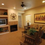 Flying L Guest Ranch, Living Room