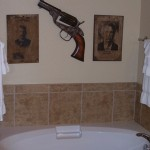 Flying L Guest Ranch, Ranch Villa Bathroom