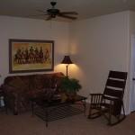 Flying L Guest Ranch, Ranch Villa Living Room