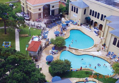 Tanglewood Resort Vacation Villas On Lake Texoma Aerial